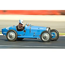 Bugatti T35B Photographic Print