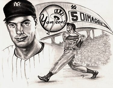 Joe Dimaggio by Kathleen Kelly-Thompson