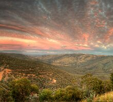 The Golden Quarter Mile - Merlin's Lookout, Hill End NSW, Australia - The HDR Experience by Philip Johnson