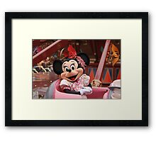 Mouse in a Chair Framed Print