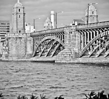 longfellow bridge in Back and white by apsjphotography