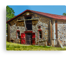Jack London's Stable (barn? animal enclosure??) Metal Print