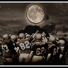 Grid Iron.......football by DIANE KLEVECKA
