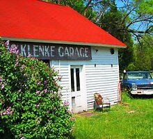 Vintage Garage on 42 by Kam Johnson