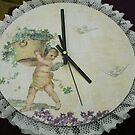 clock - cherub by anaisnais