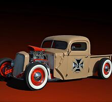 1946 Ford Pickup with 32' Ford Radiator by TeeMack