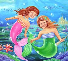 Little Mermaids by Ira Mitchell-Kirk