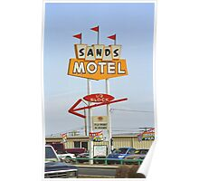 Route 66 Sands Motel Poster
