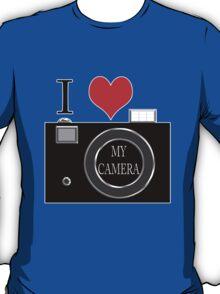 I love my camera T-Shirt