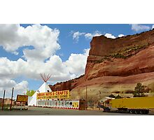 Route 66 Trading Post Photographic Print