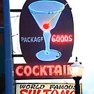 Route 66 - Williams, Arizona Bar by Frank Romeo