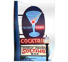 Route 66 - Williams, Arizona Bar Poster
