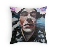 """""""In reality"""" (from The Dreams series) Throw Pillow"""
