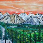 West of Banff by James Bryron Love