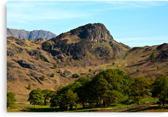 Side Pike from Blea Tarn - Lake District by Trevor Kersley