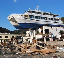 JAPAN Earthquake, Tsunami scars (6) by yoshiaki nagashima