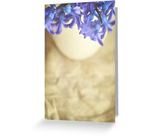 Bella Blue Greeting Card