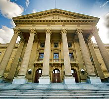 Edmonton Legislature Pseudo HDR by Myron Watamaniuk