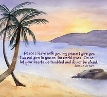 A Special Peace - John 14:27 by Diane Hall