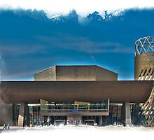 The Lowry - Salford Manchester by Glen Allen