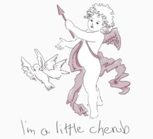 I'm a little cherub by Amanda Latchmore