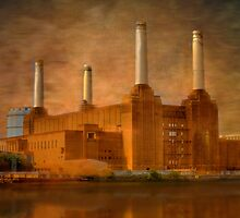 Industrial Grandeur - Old Power Station, London, Britain by Mark Richards