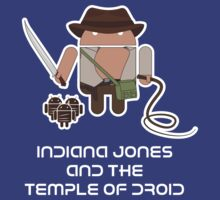 Indiana Jones and the Temple of Droid by Malc Foy