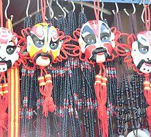 Theatre Masks by Sandra Baxter