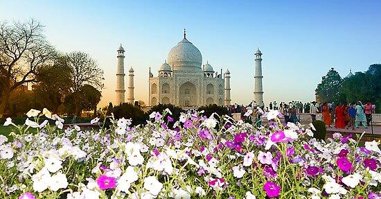 Taj Mahal-4/2011 by Mukesh Srivastava