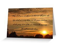 The Ode Greeting Card