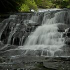Leura cascade flows by donnnnnny