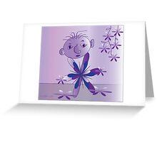Purple..... Greeting Card
