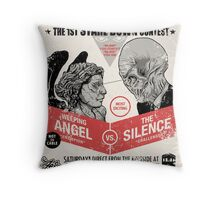 You'll Miss Me if You Blink Twice Throw Pillow