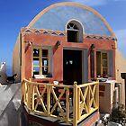 Mediterranean Kitty - Oia, Santorini by Ben Prewett