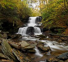 Tuscarora Falls (Autumn) by Tim Devine