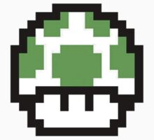Mario 1UP Pixels by milkyt