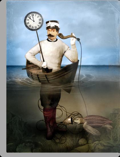 The speaking clock by Catrin Welz-Stein
