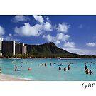 Waikiki Beach, Oahu Hawaii by Ryan Epstein