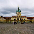 Charlottenburg Palace in Berlin Germany by Rae Tucker