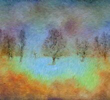 Monet's playground by Angela King-Jones