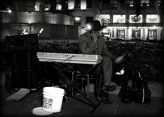 Livin' the Blues at the Plaza Hotel by greg angus