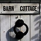 Barn Door - Autumn shadows by electrocub