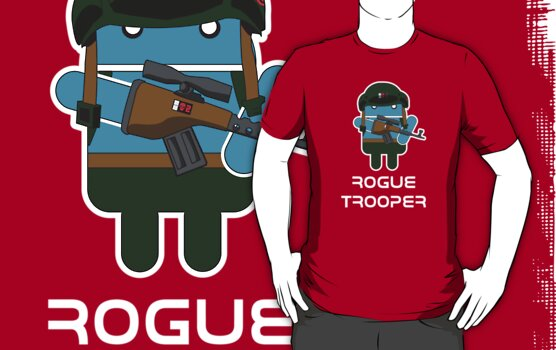 Rogue Trooper - 2000 A[ndroi]D by Malc Foy