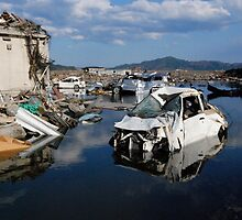 JAPAN Earthquake, Tsunami scars (11) by yoshiaki nagashima