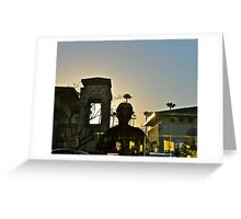 The Palm Tree On My Head - San Diego - California Series - 2011 Greeting Card