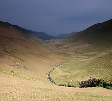 Down Newlands Valley by Paul  Green