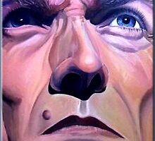 Clint Eastwood OIL by DeniseLaFrance4