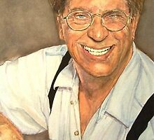 "Director Ron Sullivan aka ""Henri Pachard"" watercolor by DeniseLaFrance4"