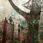 tree and gate by A.R. Williams