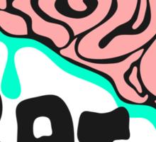 I love Brains Sticker